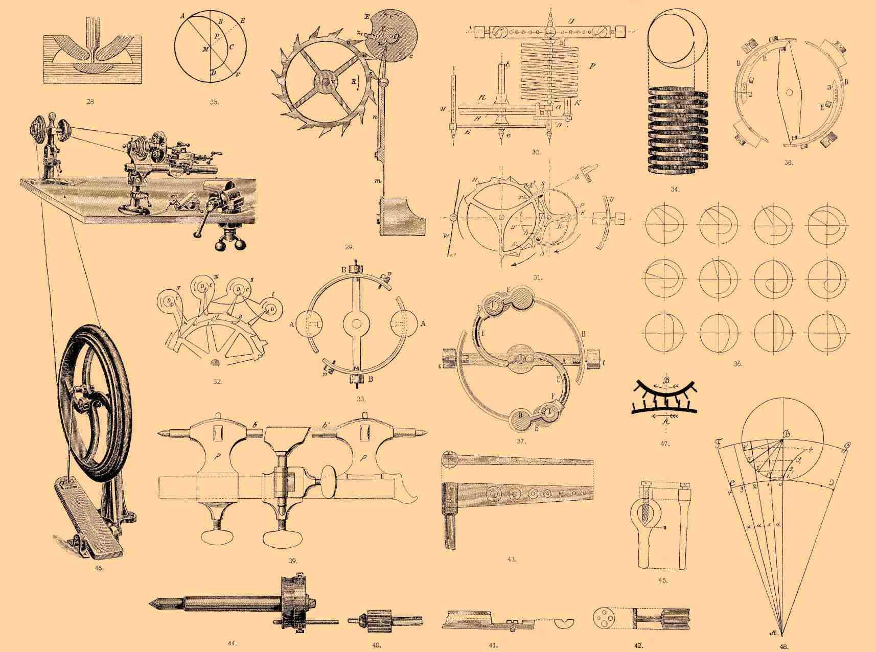 Часы из дерева своими руками чертежи фото 139