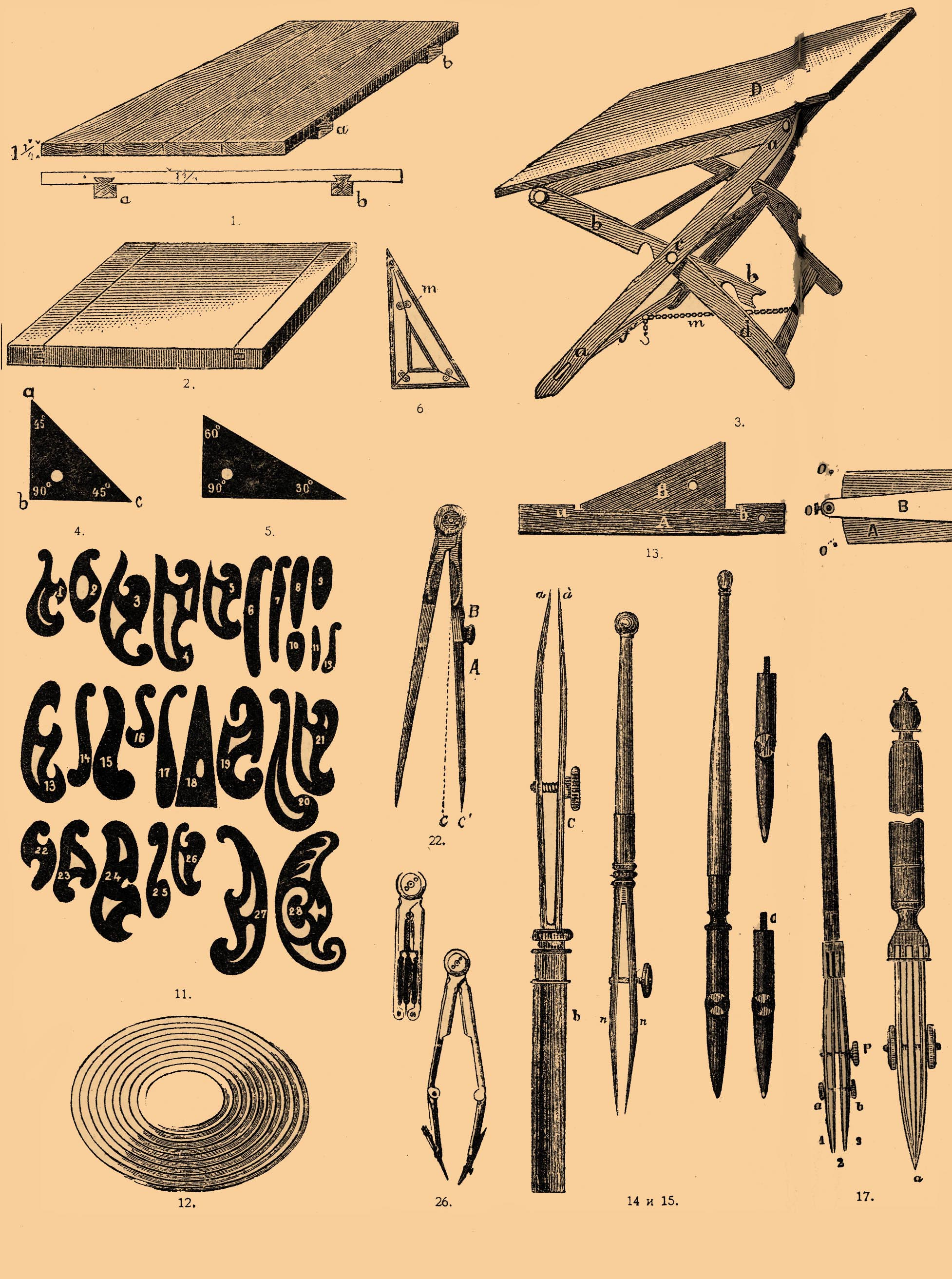 Lettering Instruments And Their Uses