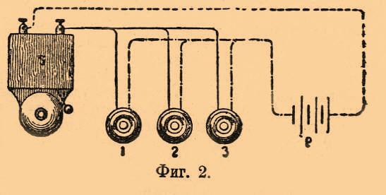 2 показана схема установки,