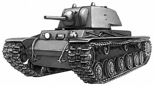 Советский танк 2-й мировой