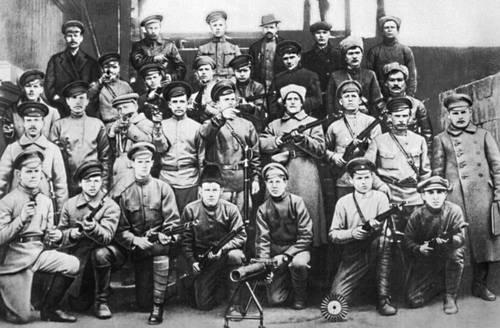 Красная Гвардия Николаевской железной дороги. Москва. 1917.