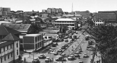 Аккра вид части города