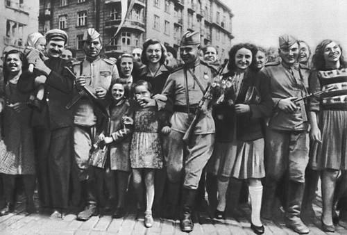 Советские солдаты в софии сентябрь 1944