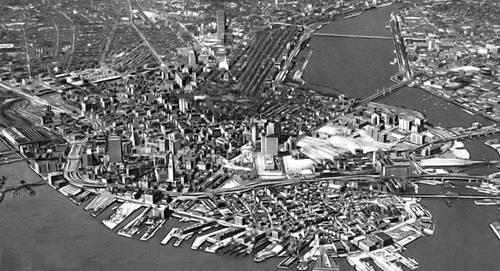 Бостон общий вид города