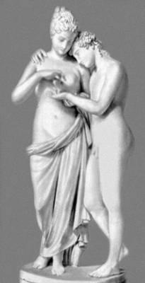 А. Канова. «Амур и Психея». Мрамор. 1793. Лувр. Париж.