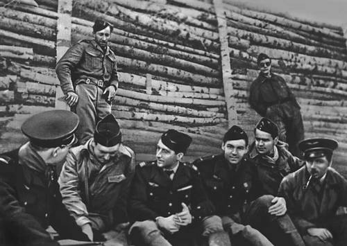 Парад победы 24 июня 1945 на красной