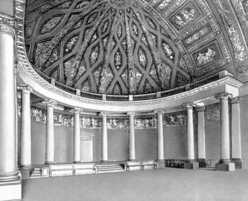 Д. И. Жилярди. Актовый зал Московского университета. 1817—19.