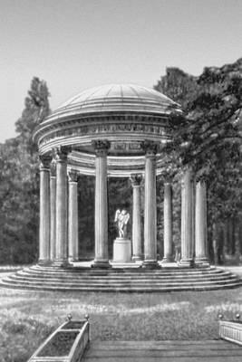 Р. Мик. «Храм любви» в пейзажном парке Версаля. 2-я половина 18 в.