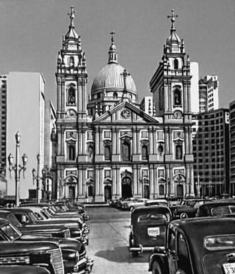 Рио-де-Жанейро. Собор Ла Канделария. 1775. Архитектор Ф. Ж. Рошио и др.
