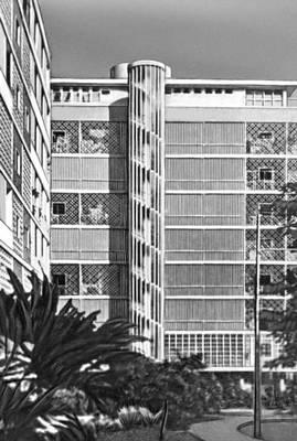 Бразилия. Л. Коста. Жилое здание «Нова Синтра» в Рио-де-Жанейро. 1948.