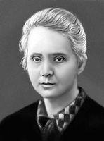 M. Sklodowska-Curie.