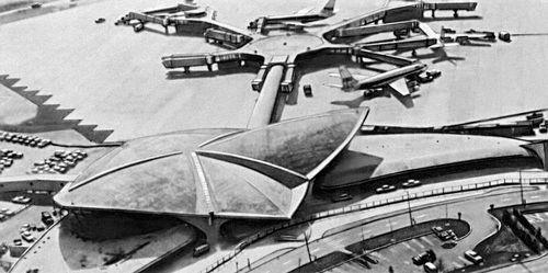 TWA в аэропорту Кеннеди.