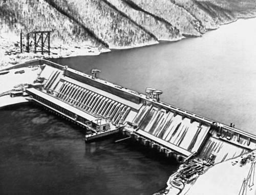 ГЭС имени 50-летия СССР.