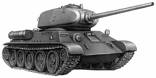 2-й мировой войны Т-34-85