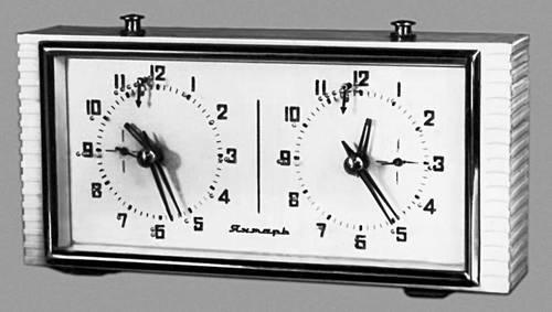 кварцевые часы Янтарь. Сделано