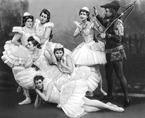 балет Чайковского «Лебединое озеро»