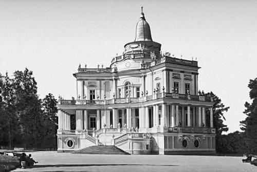 А. Ринальди. Павильон «Катальная горка» в г. Ломоносове. 1762—74.