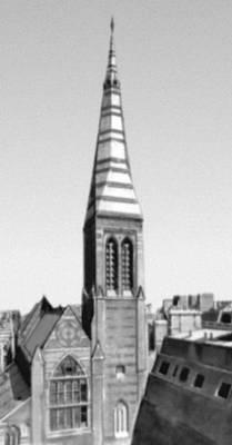 Лондон церковь олл сентс 1849—59