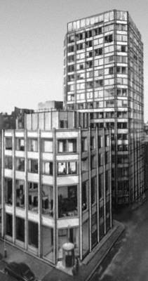 Лондон здание редакции журнала