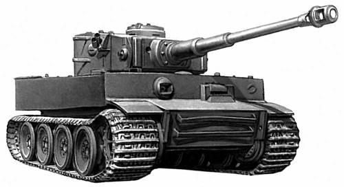 Немецкий танк 2-й мировой