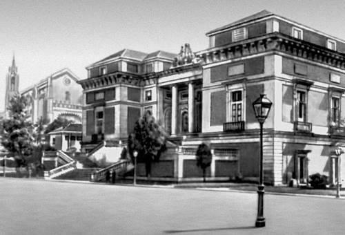 Музей Прадо. 1785—1830. Архитектор Х. де Вильянуэва. Главный фасад.