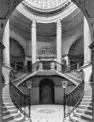 Дж. Пейн. Замок-дворец Уордор в Уилтшире. 1768—76. Вестибюль.