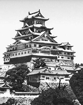 Япония архитектура 7—17 вв замок