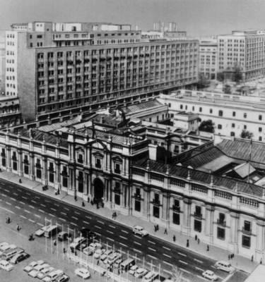 Сантьяго дворец ла монеда бывшая