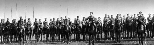 Подразделение 1 й конной армии ростов