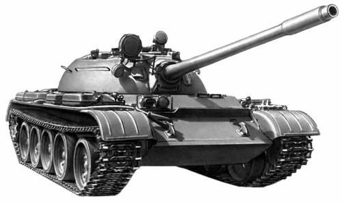 Самая карошая машинка.  Советский современный танк Т-55.  0.
