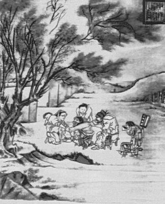 Ли тан деревенский лекарь шёлк