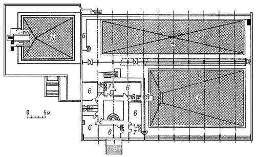 План крытого бассейна в