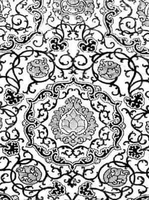 Бархат с золотыми и серебряными нитями. Генуя. Середина 16 в. Городской музей старинного искусства. Турин.