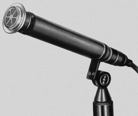 Конденсаторный микрофон типа