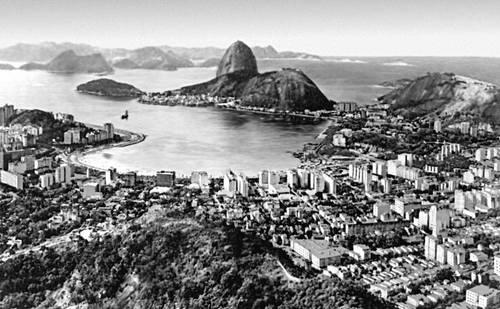 Рио-де-Жанейро. Общий вид города.