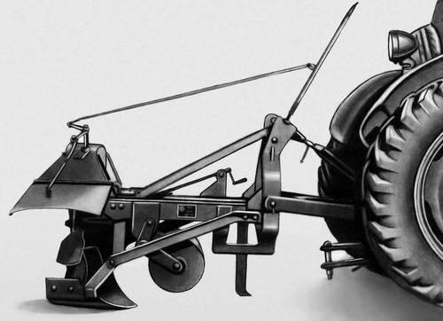 Буртоукрывщик роторный.