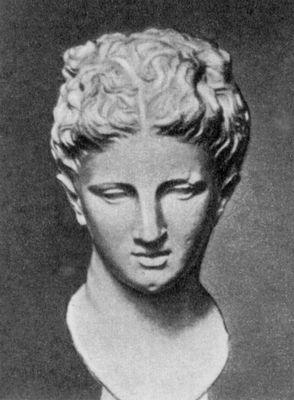 Албания т н богиня бутринта голова