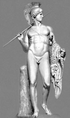 Б. Торвальдсен. «Ясон». Мрамор. 1802—03. Музей Торвальдсена. Копенгаген.