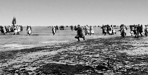 Наступление советских войск по льду