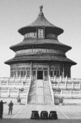 Храм циняньдянь в ансамбле храма
