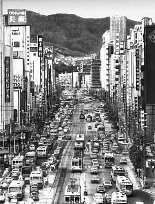 Япония улица хиросимы о хонсю