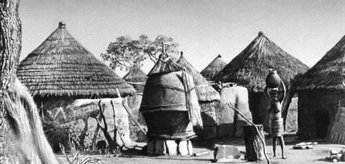 Деревня Сомба Африка