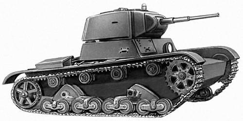 Лёгкий Т-26.