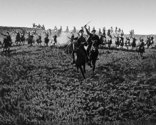 Атака эскадрона связи 1 й конной армии