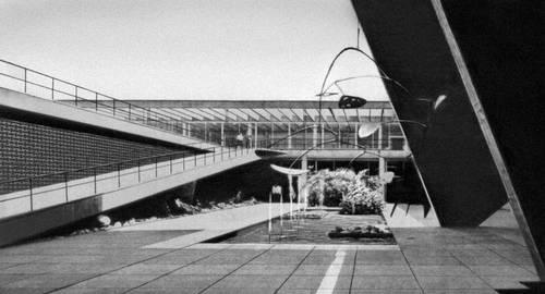 Бразилия. А. Э. Рейди, Р. Бурле Маркс. Музей современного искусства в Рио-де-Жанейро. 1958.