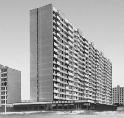Крупнопанельный многоэтажный