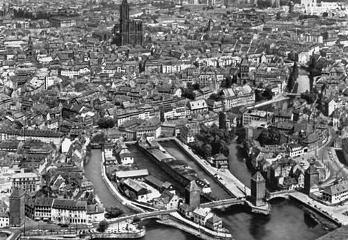 Франция страсбур вид части города