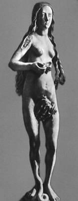 Т. Рименшнейдер. Статуя Евы. Камень. 1491—93. Майнско-Франконский музей. Вюрцбург.