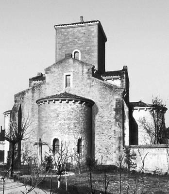 Ораторий в Жерминьи-де-Пре (Франция). Около 806.