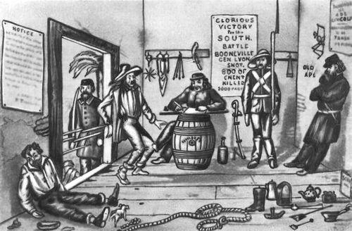 Гражданская война в сша 1861